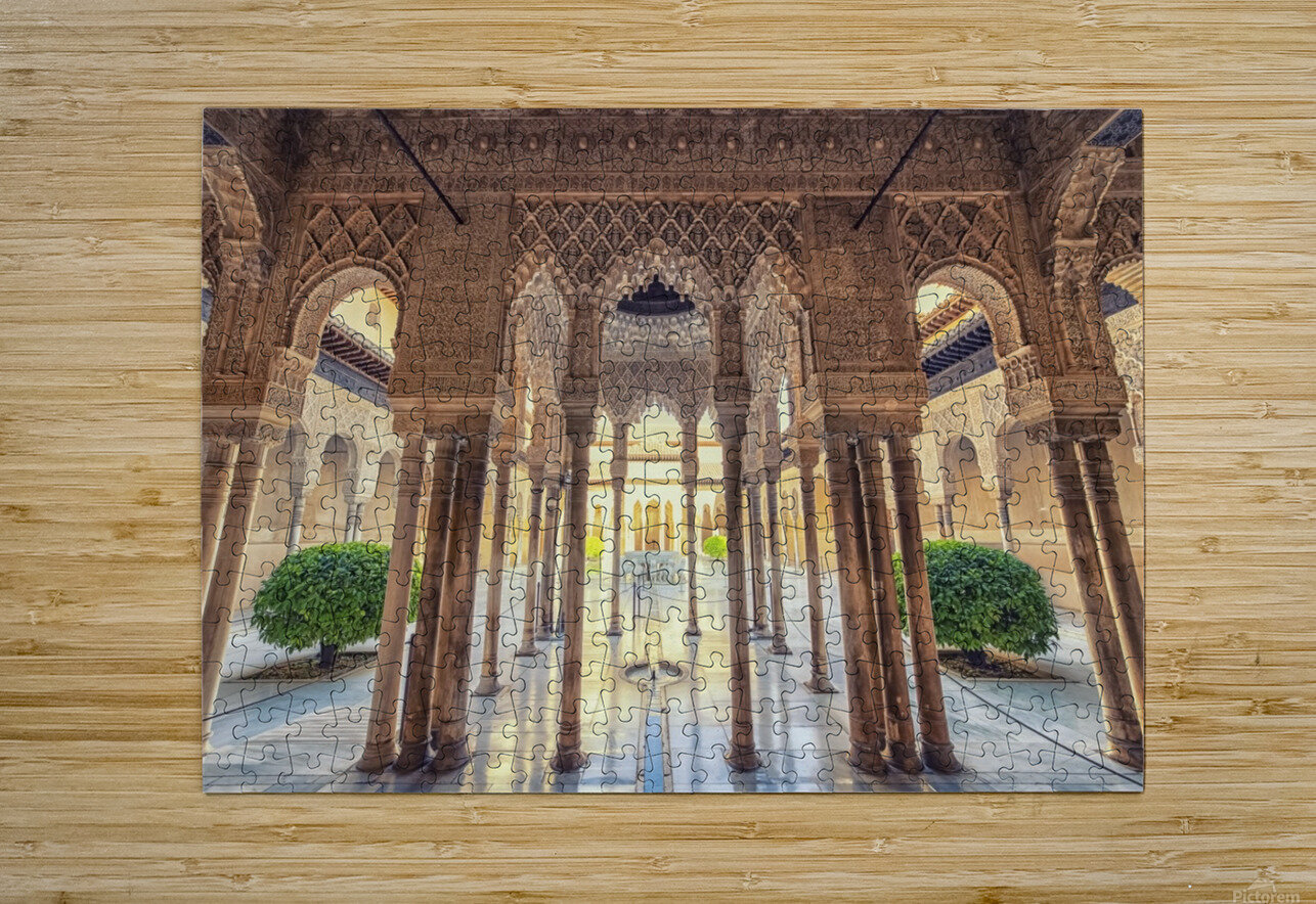 Alhambra  HD Metal print with Floating Frame on Back