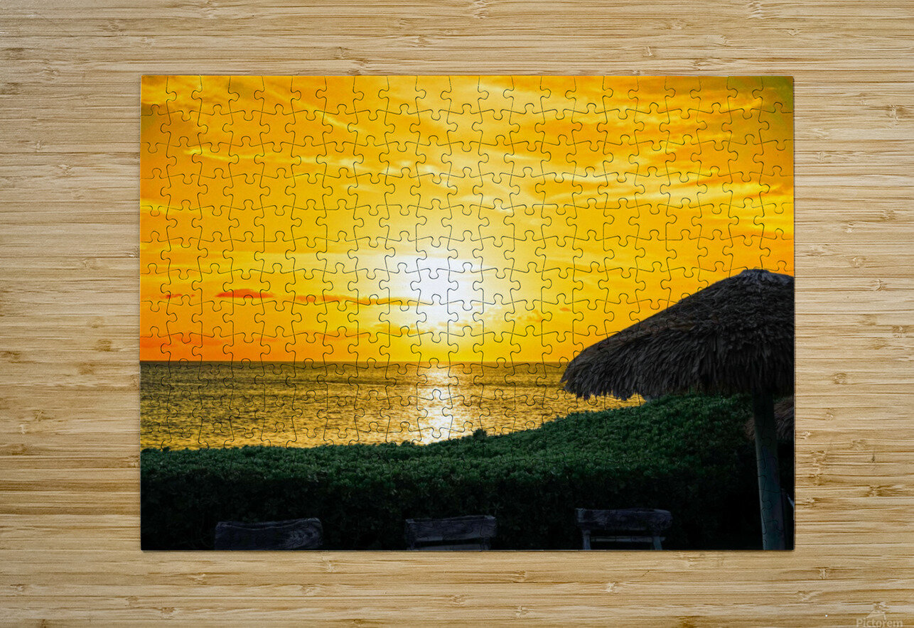 Away  HD Metal print with Floating Frame on Back
