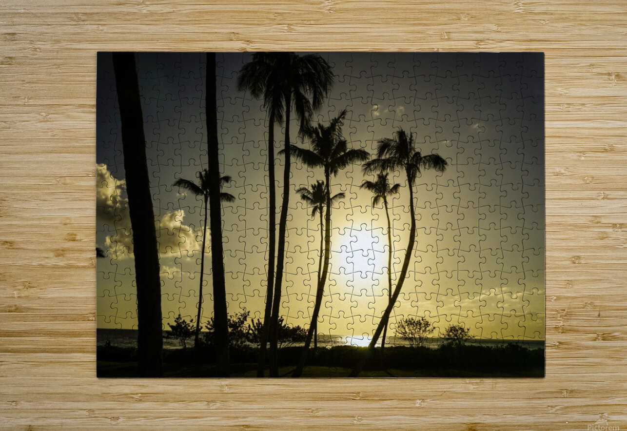 Clear Day  HD Metal print with Floating Frame on Back