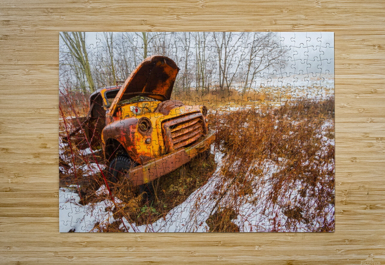 GMC ap 1732  HD Metal print with Floating Frame on Back