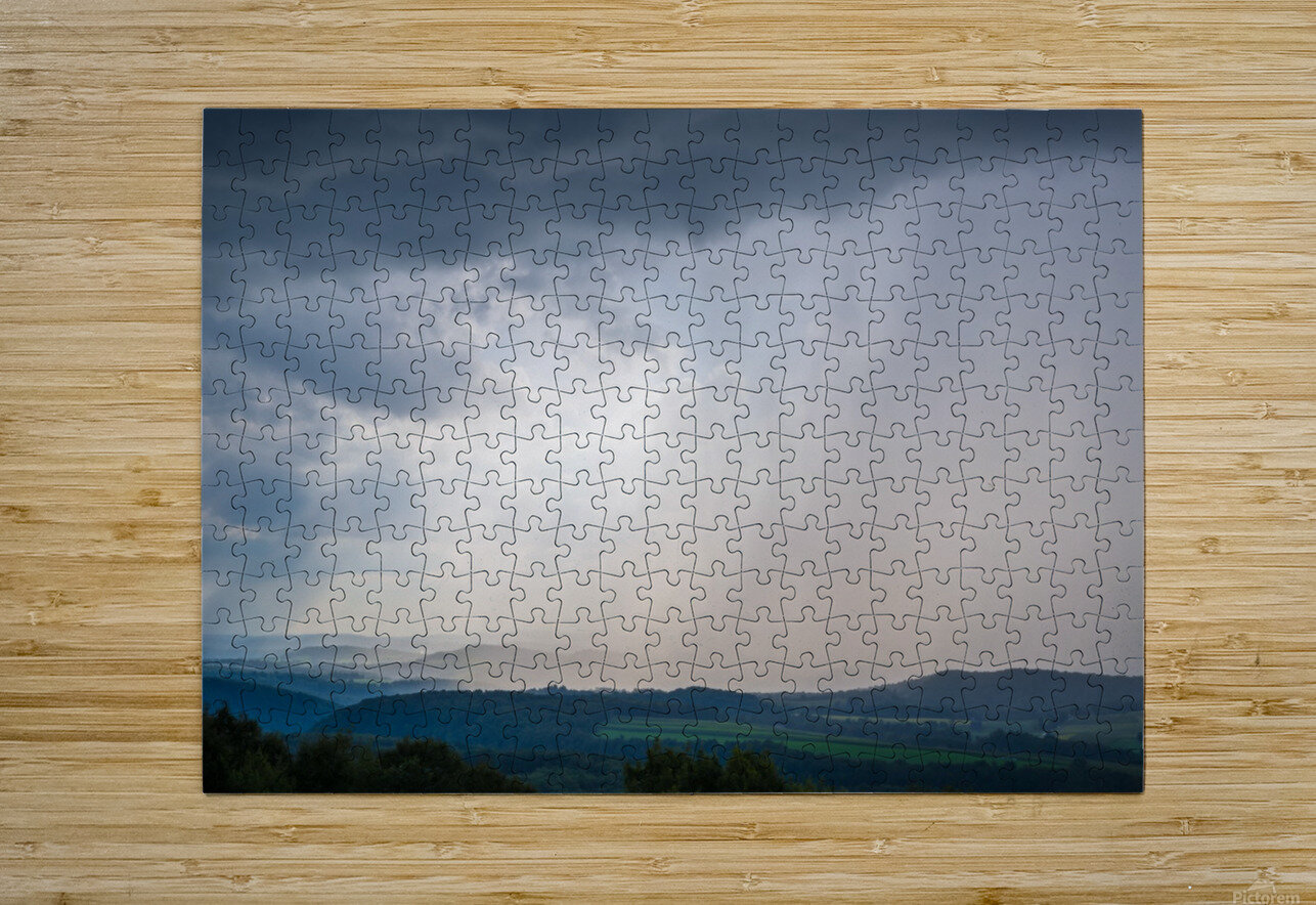 Moving Storm ap 2903  HD Metal print with Floating Frame on Back