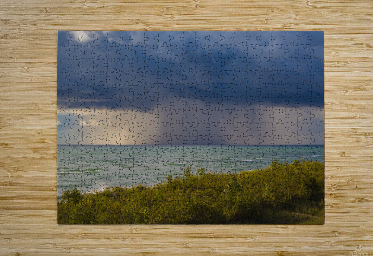 T Storm ap 2426  HD Metal print with Floating Frame on Back