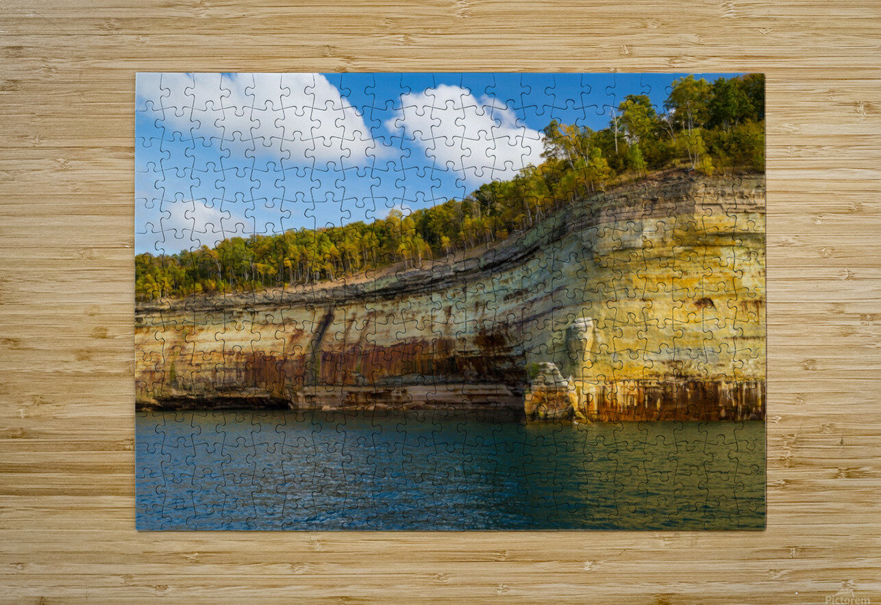Water Colors ap 2492  HD Metal print with Floating Frame on Back