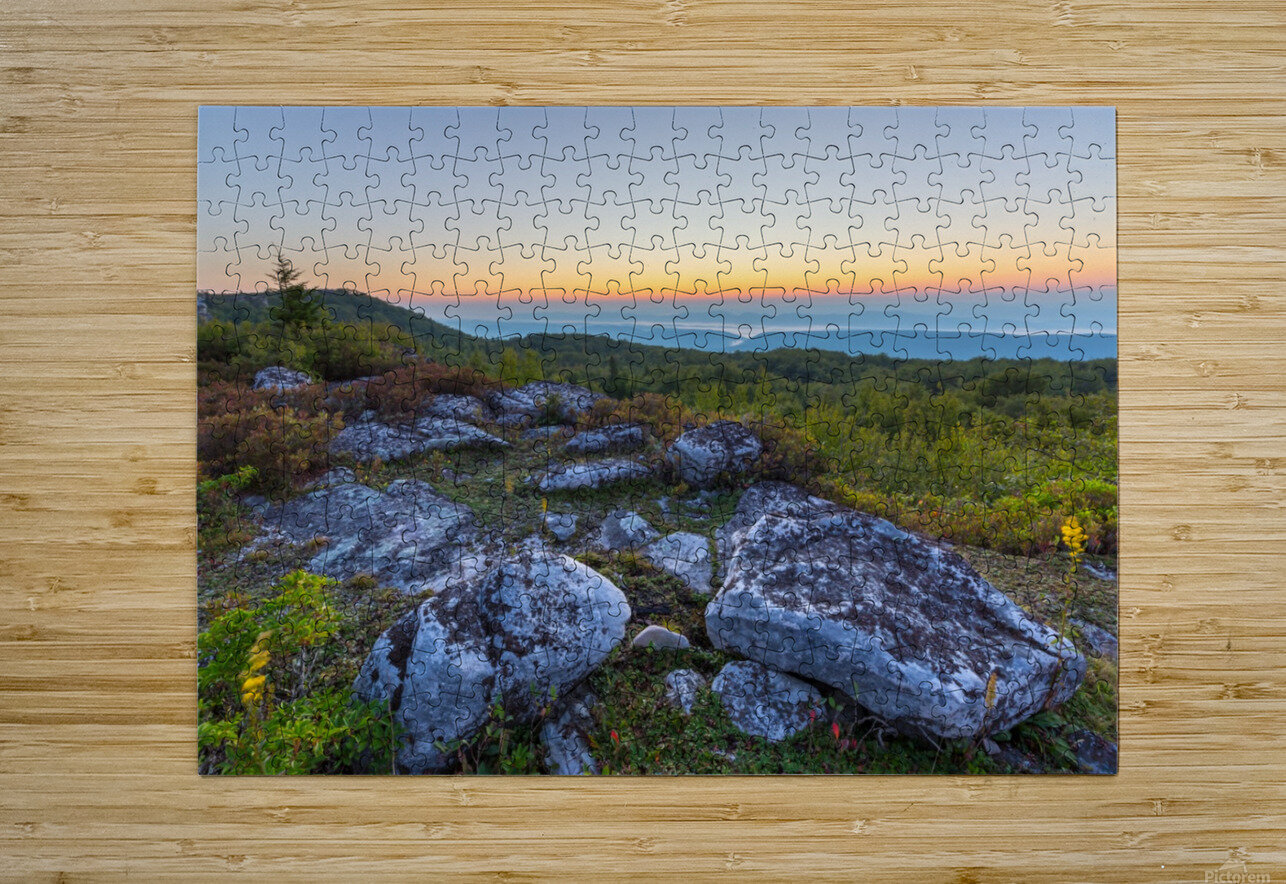 Sunrise ap 2896  HD Metal print with Floating Frame on Back