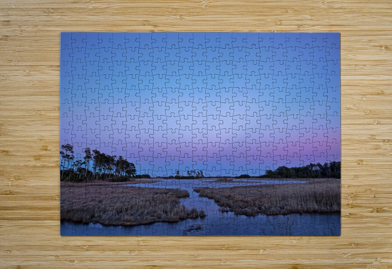 Twilight Shadow ap 2789  HD Metal print with Floating Frame on Back
