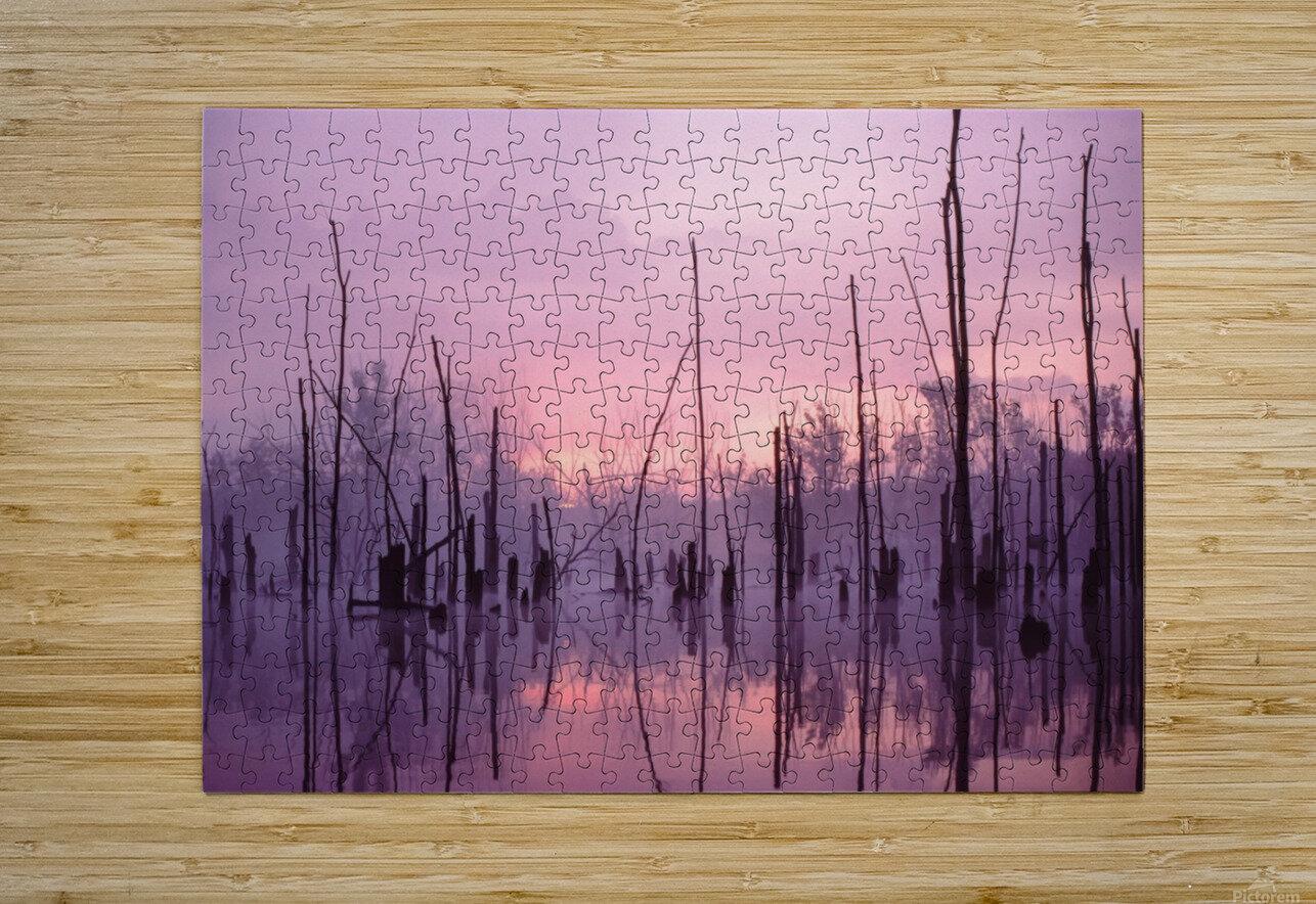 Sunrise ap 1501  HD Metal print with Floating Frame on Back