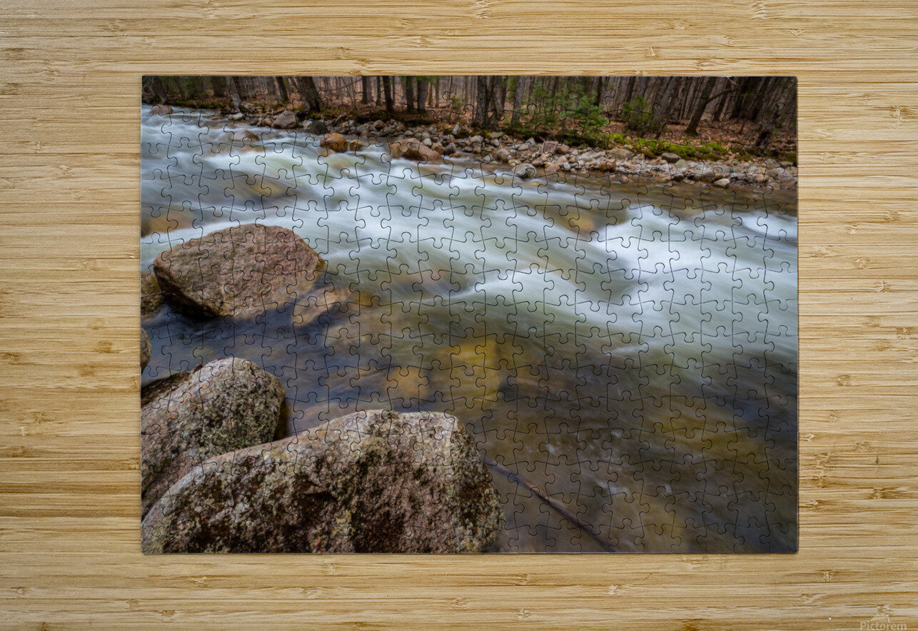 Rapids ap 2158  HD Metal print with Floating Frame on Back