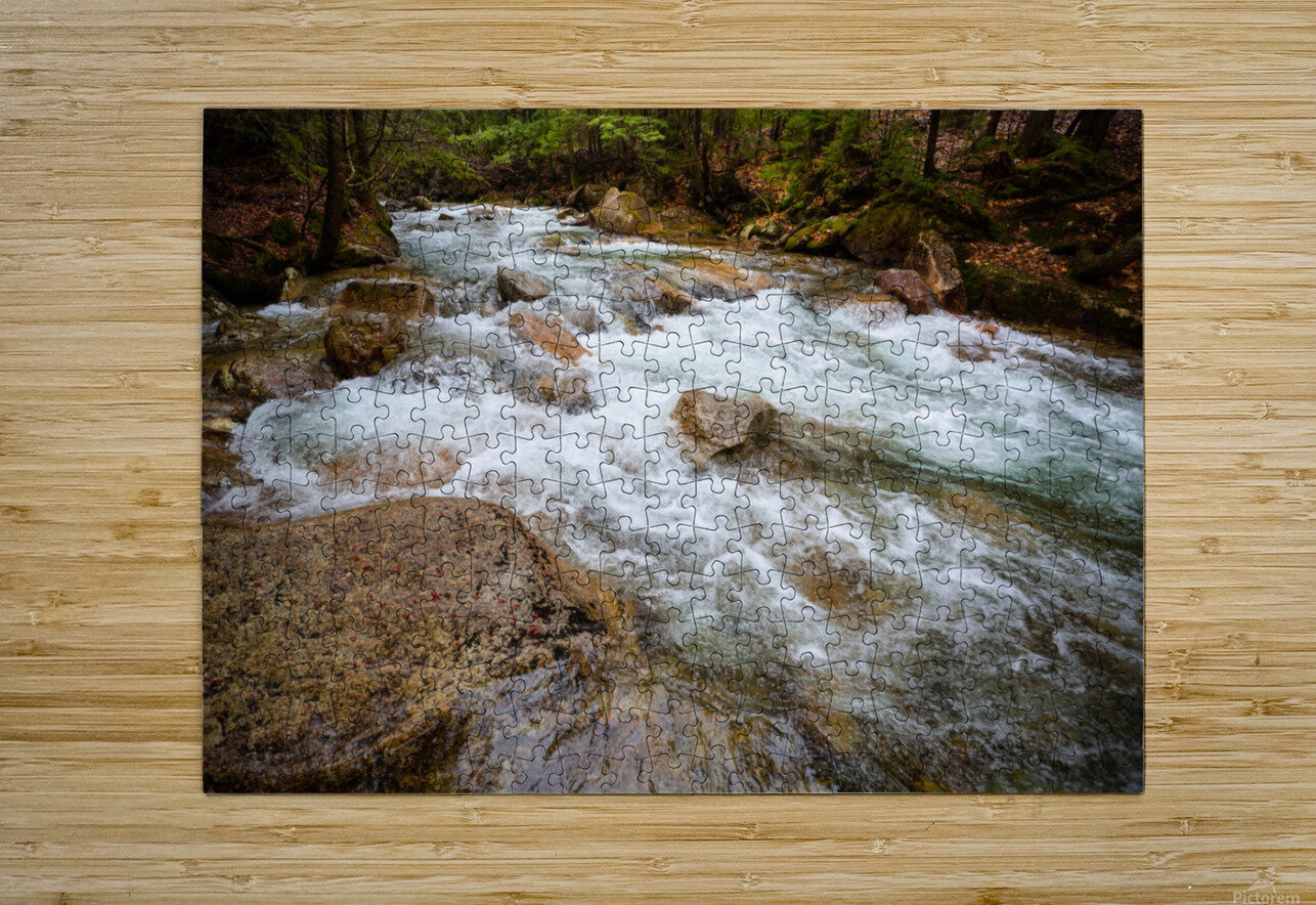 The Pemi ap 2160  HD Metal print with Floating Frame on Back