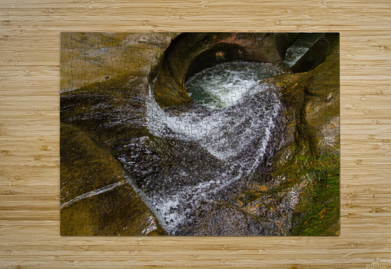 Devils Bathtub ap 2055  HD Metal print with Floating Frame on Back