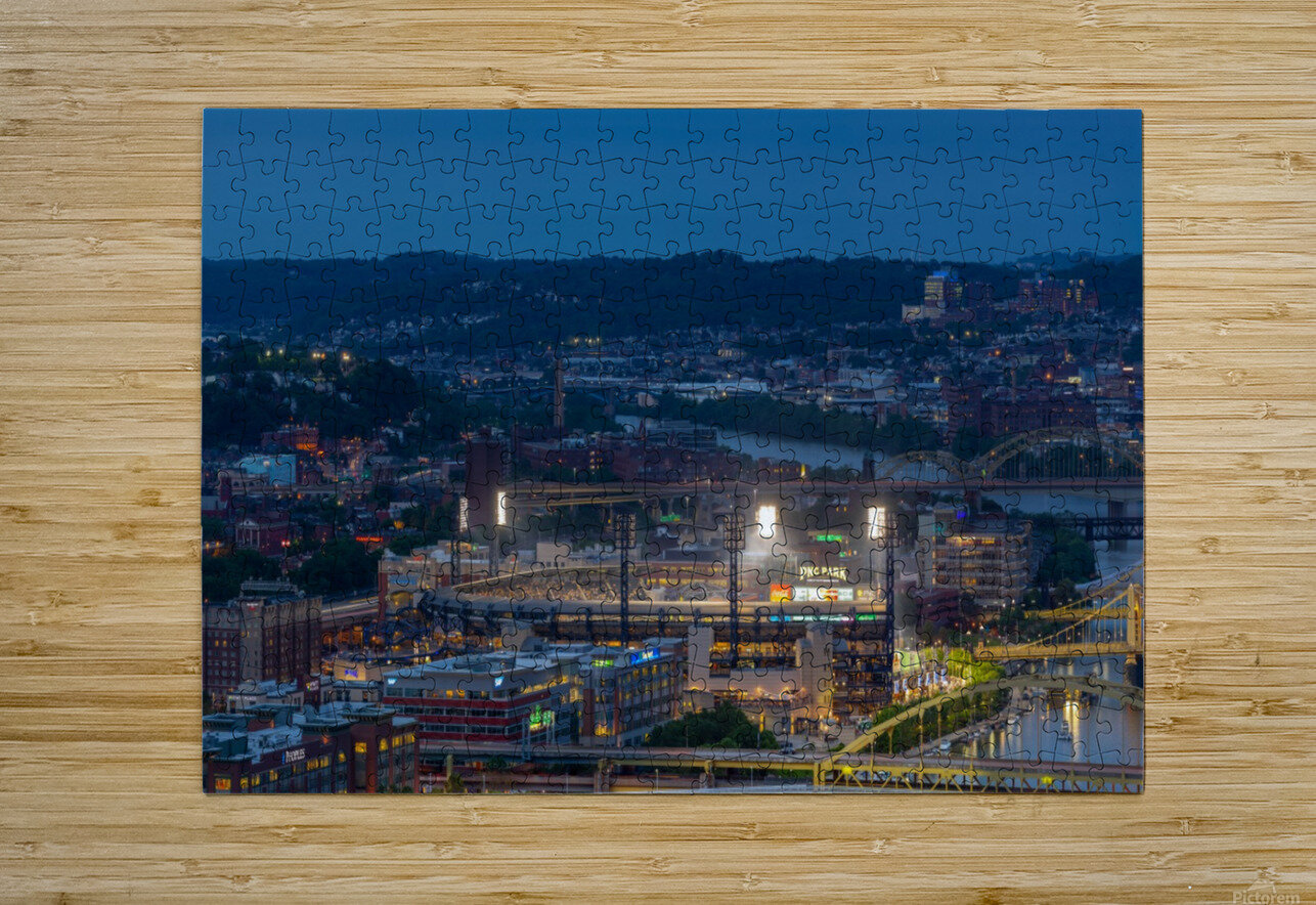PNC Park apmi 1707  HD Metal print with Floating Frame on Back