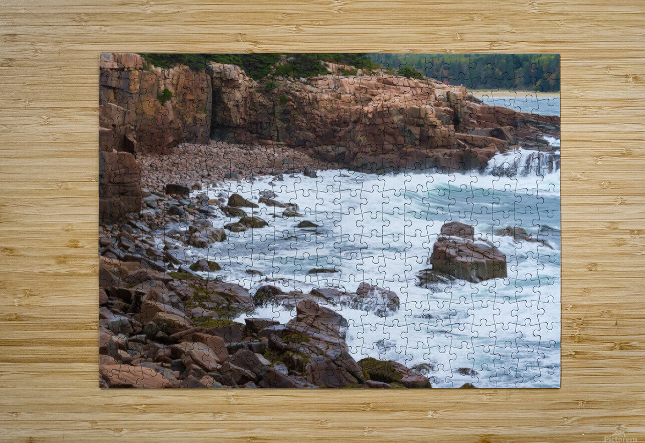 Monument Cove ap 1536  HD Metal print with Floating Frame on Back