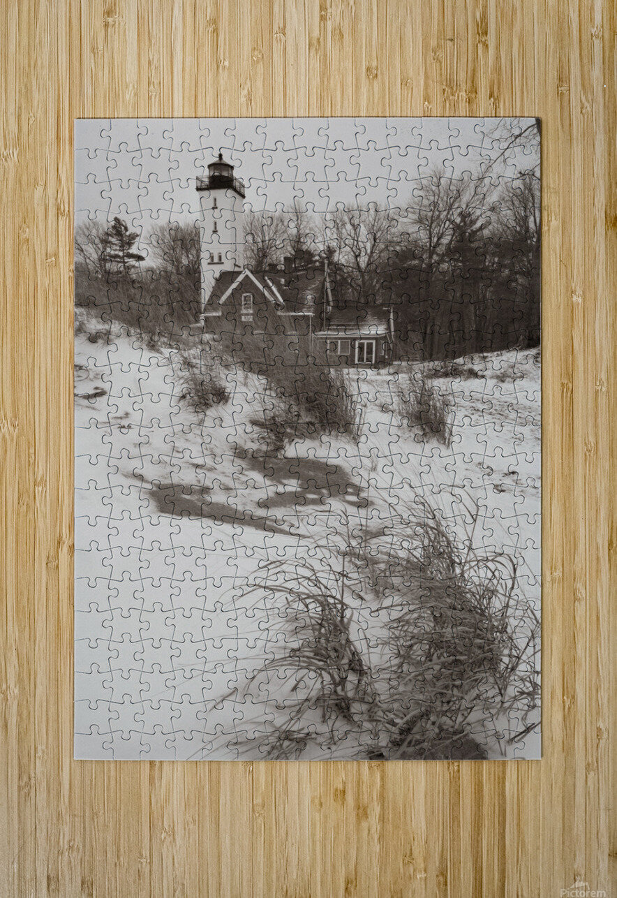 Lighthouse ap 2148  HD Metal print with Floating Frame on Back