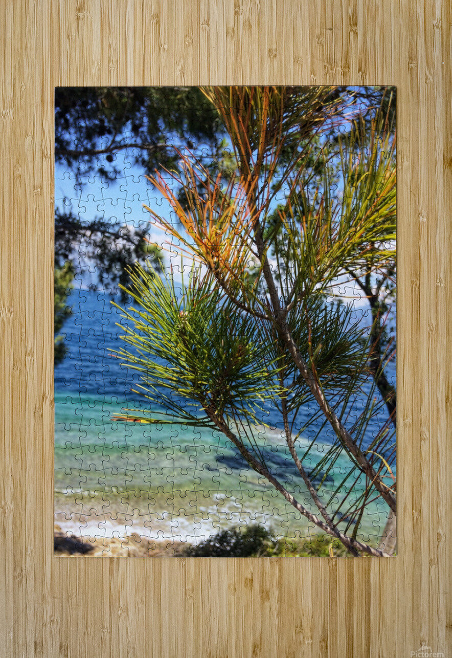 Greece Peloponnese  HD Metal print with Floating Frame on Back