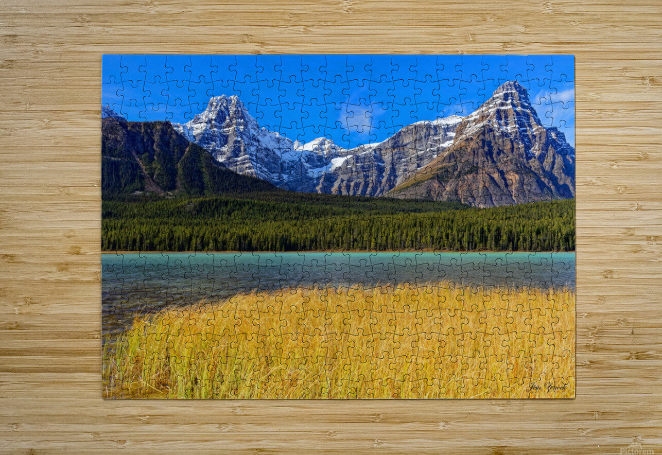 Banff National Park Alberta Canada  HD Metal print with Floating Frame on Back
