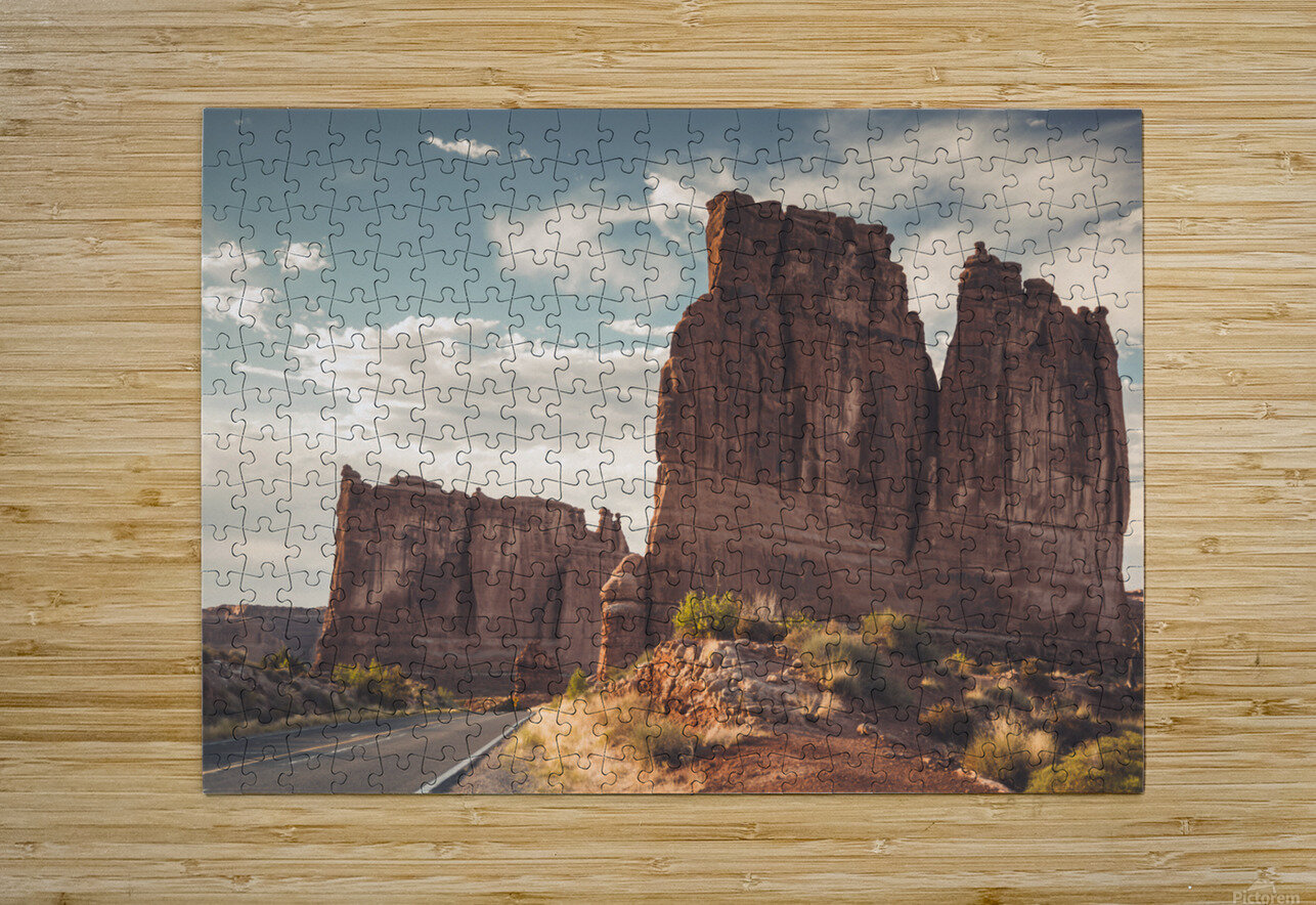 Arches National Park UT  HD Metal print with Floating Frame on Back