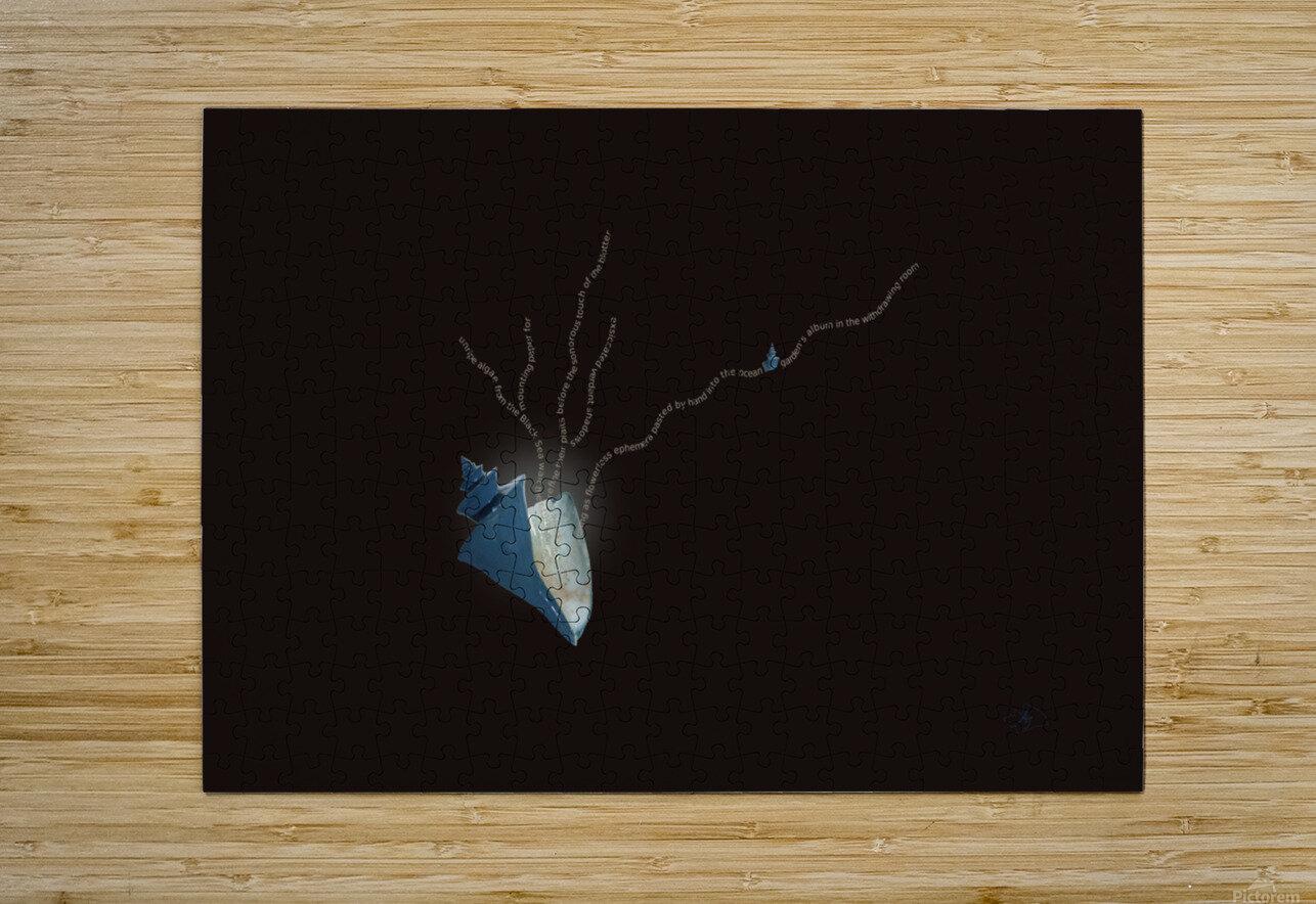 Herbarium  HD Metal print with Floating Frame on Back