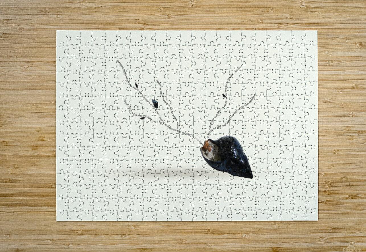 Cerebration  HD Metal print with Floating Frame on Back