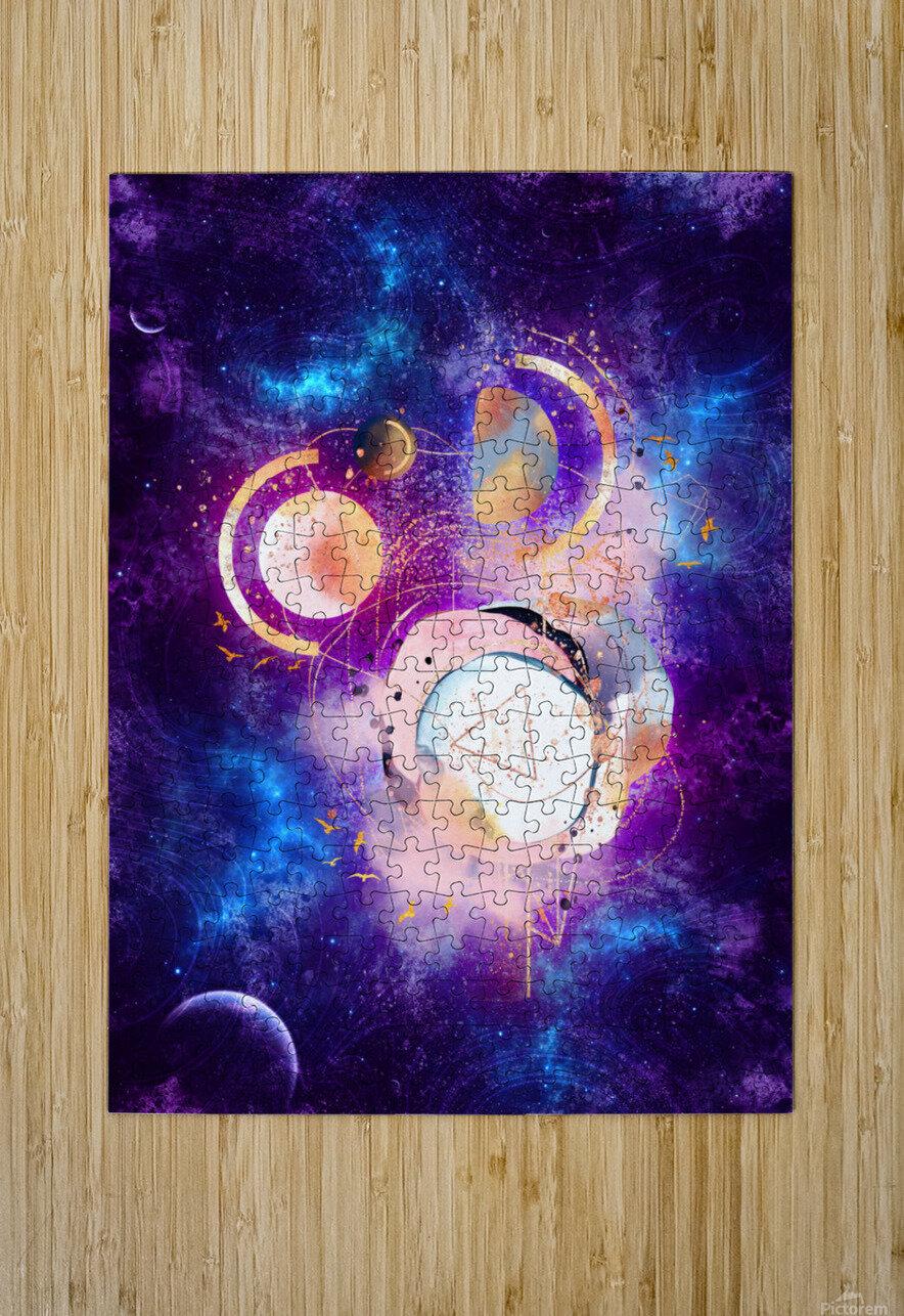 Dream Art XVIII - Cosmic World  HD Metal print with Floating Frame on Back