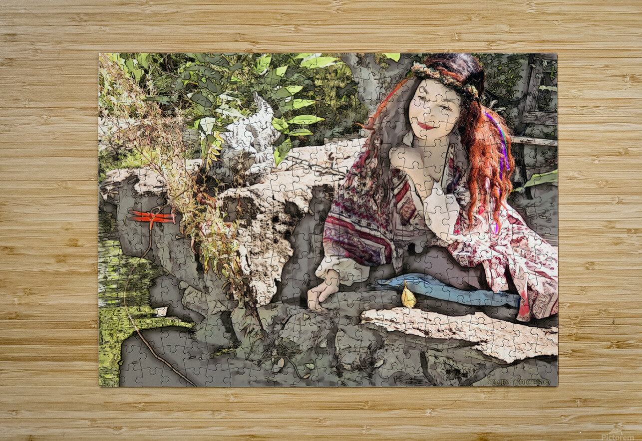 A FAIRY TALE STORY -Art- Photo  1-4   HD Metal print with Floating Frame on Back