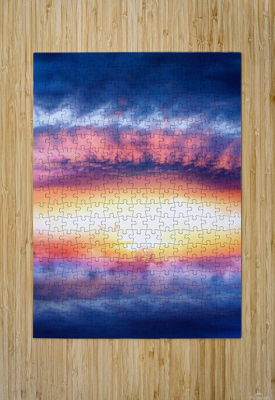 Dream Art IV  HD Metal print with Floating Frame on Back