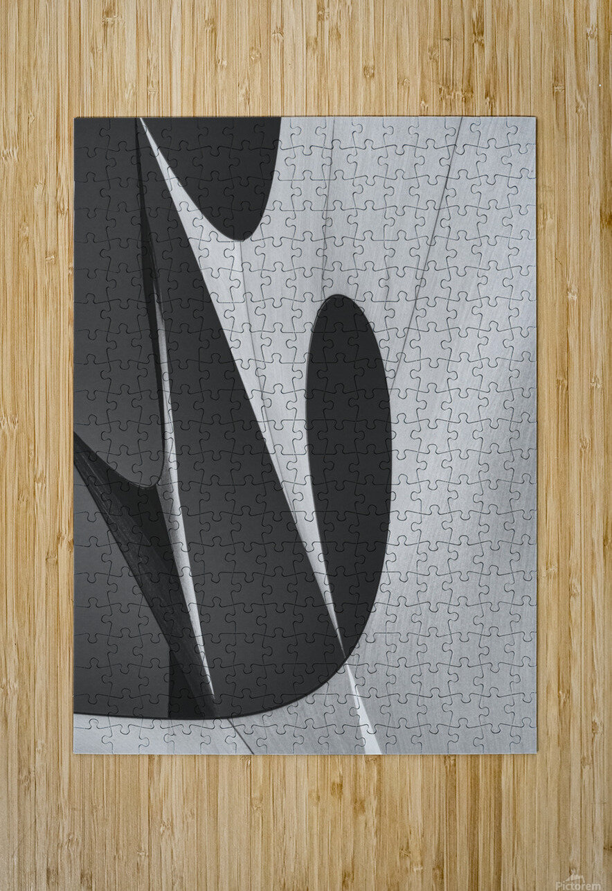 Abstract Sailcloth 10  HD Metal print with Floating Frame on Back