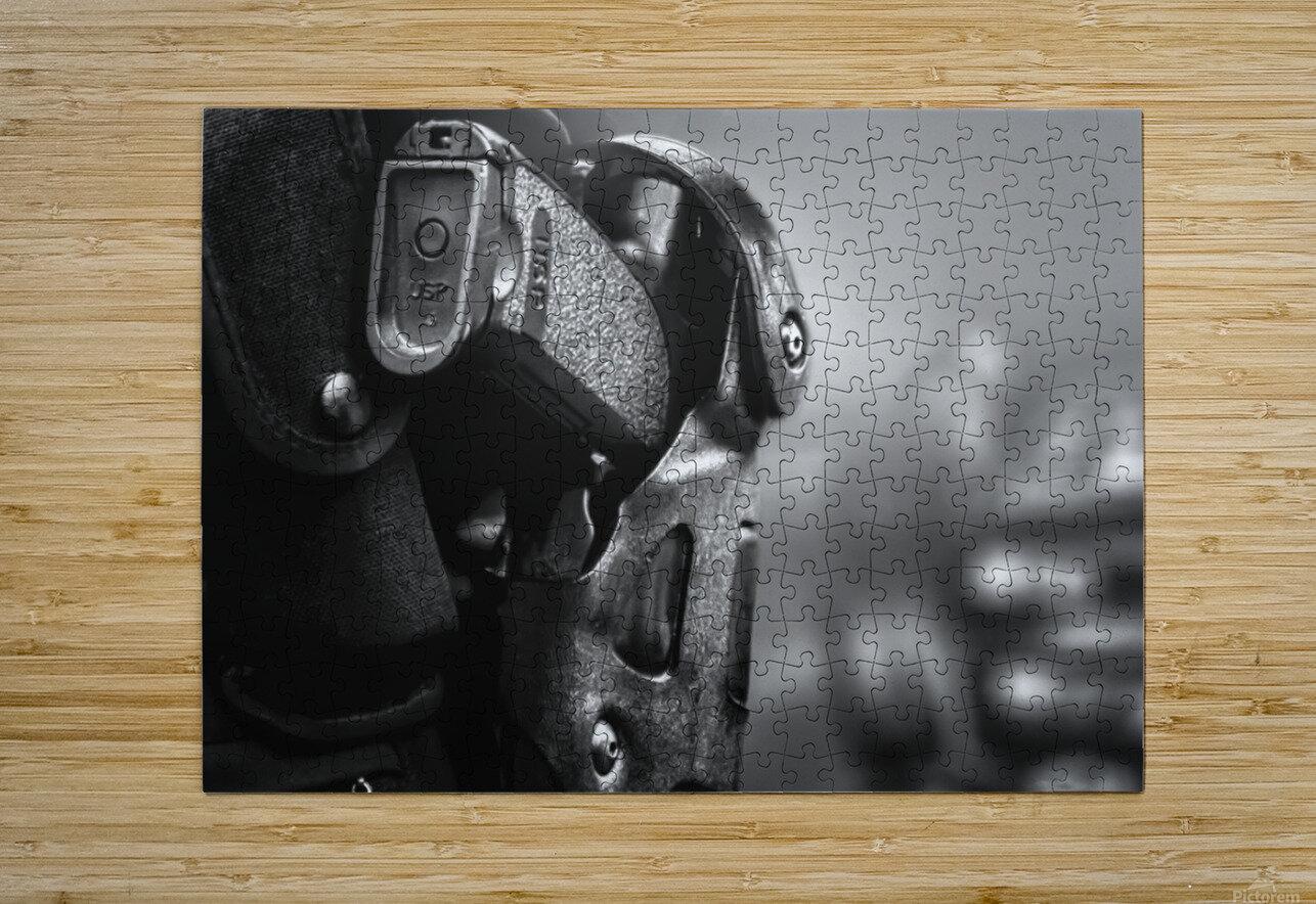 Police Backup  HD Metal print with Floating Frame on Back