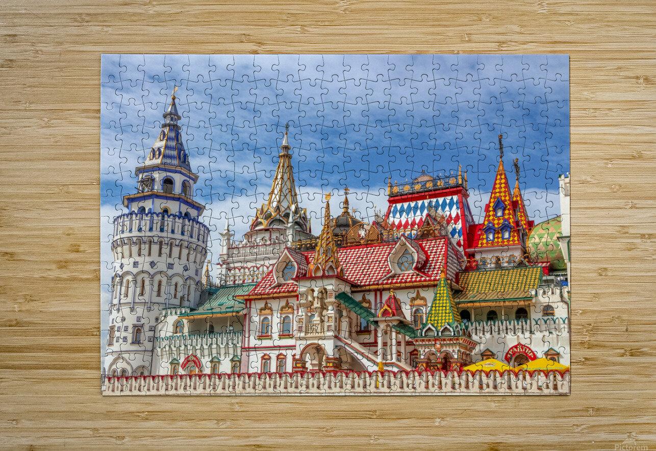 Kremlin  HD Metal print with Floating Frame on Back