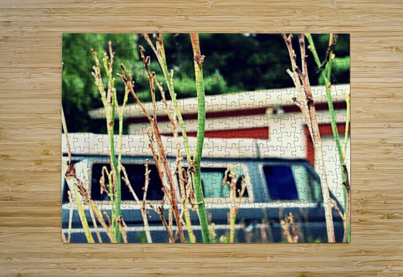 Van Life  HD Metal print with Floating Frame on Back