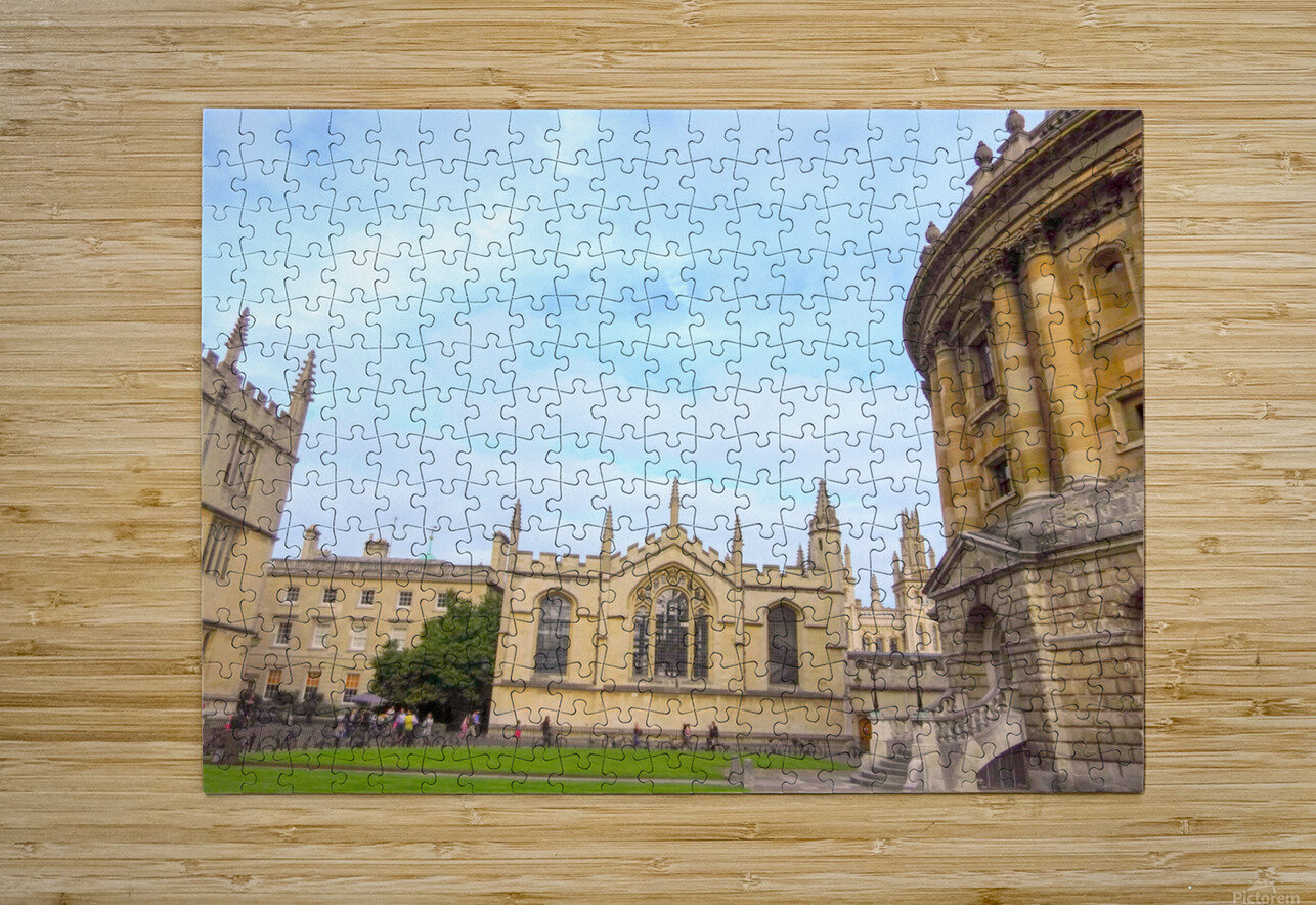 Snapshot in Time Presents a Visit to Oxford 2 of 8  HD Metal print with Floating Frame on Back