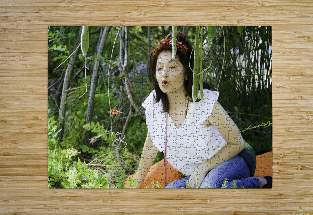TELL ME MORE...Collection 6-6  HD Metal print with Floating Frame on Back