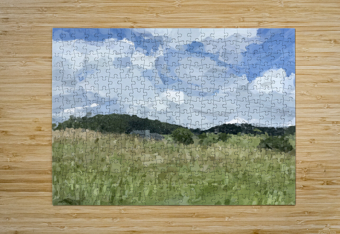 Clouds Over Parkton  HD Metal print with Floating Frame on Back
