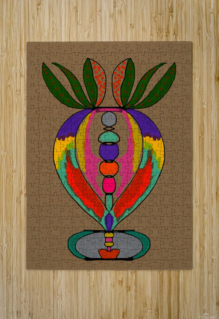 My Special Flower  HD Metal print with Floating Frame on Back