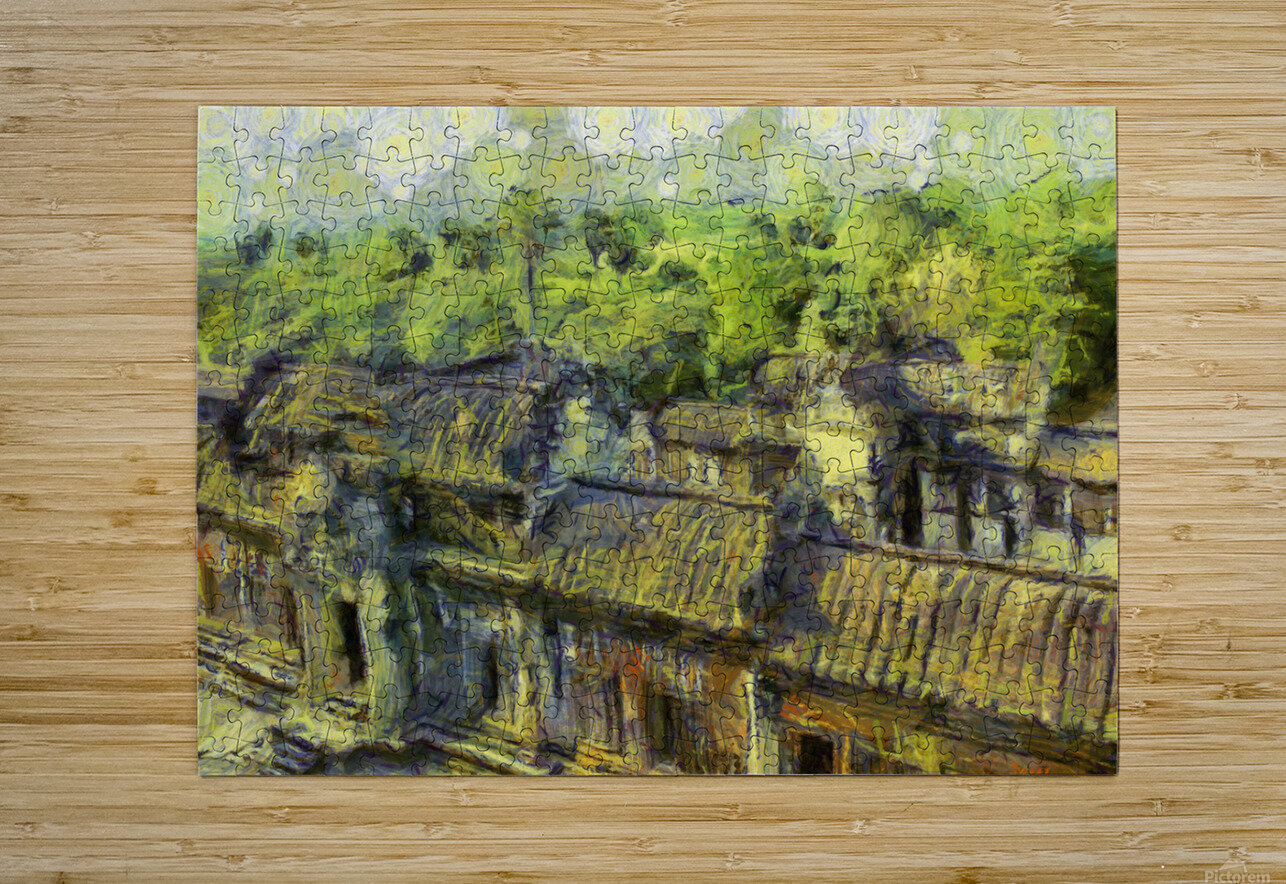 CAMBODIA 132 Angkor Wat  Siem Reap VincentHD  HD Metal print with Floating Frame on Back