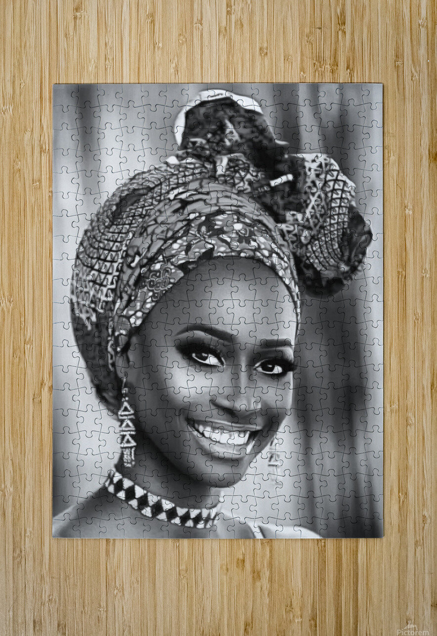 africa 1  HD Metal print with Floating Frame on Back