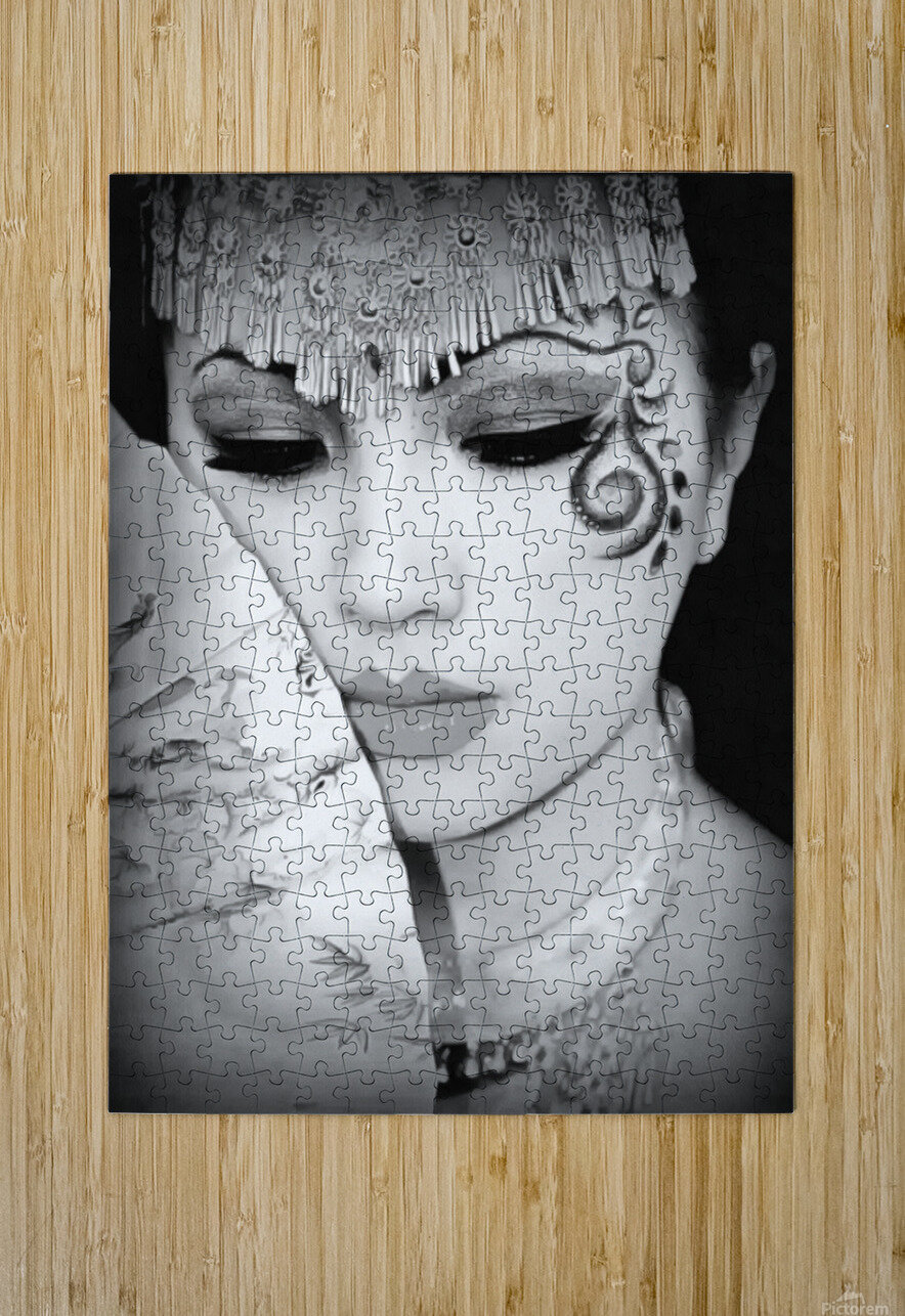 asia 1  HD Metal print with Floating Frame on Back