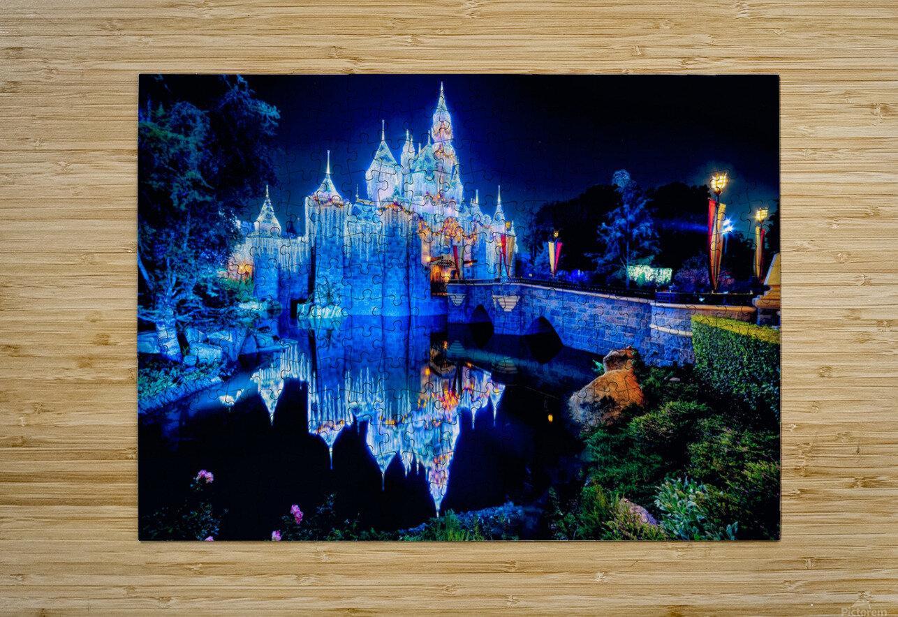Disney Magic  HD Metal print with Floating Frame on Back