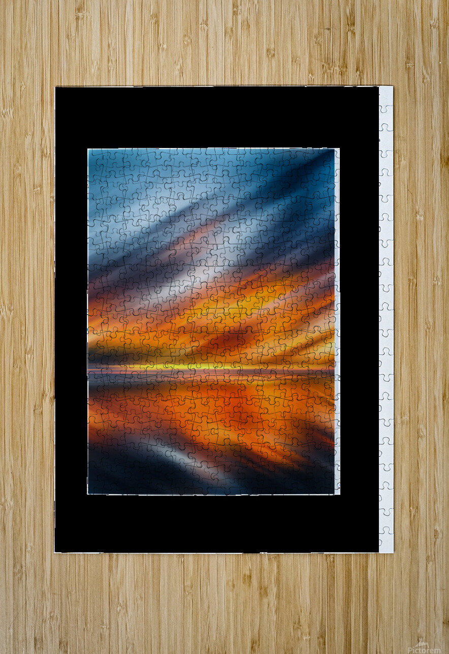 Abstract Movement XXXV  HD Metal print with Floating Frame on Back