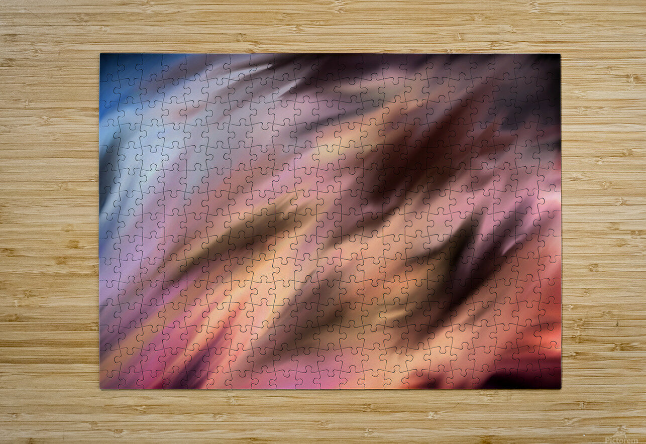 Turbulence  HD Metal print with Floating Frame on Back