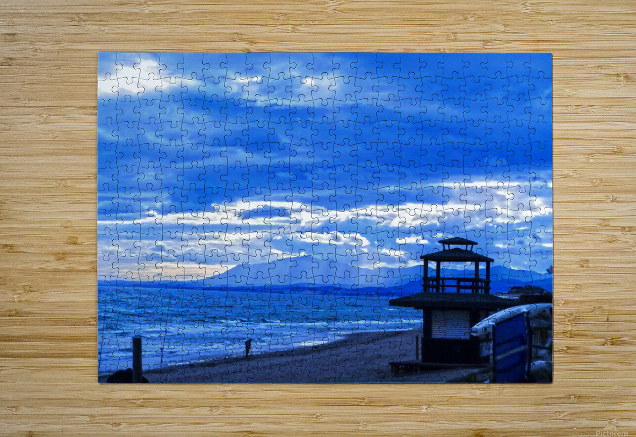 Gone Fishing  Costa Del Sol  Spain 1 of 2  HD Metal print with Floating Frame on Back