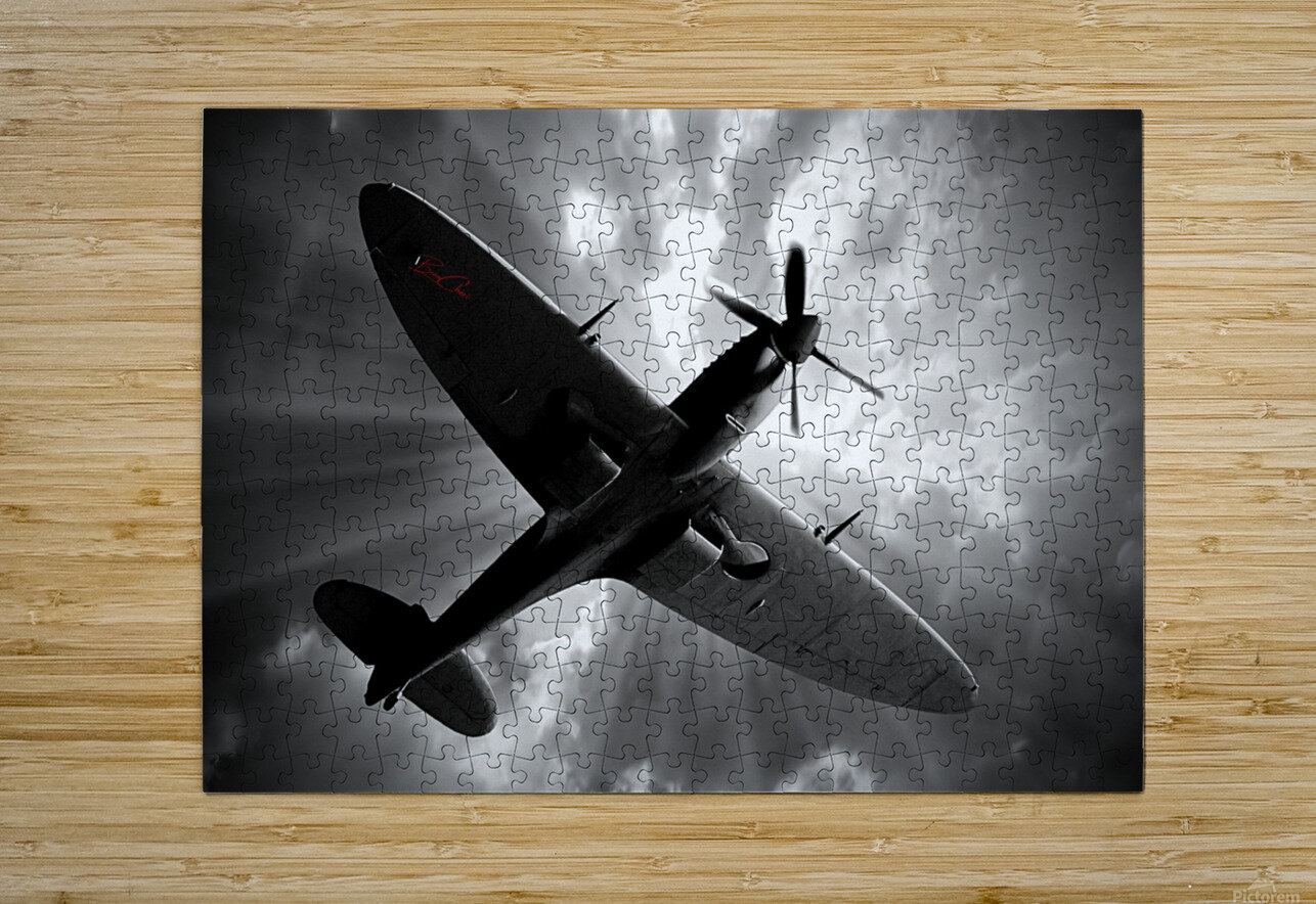 Spitfire Angel Limited Edition 50 Prints only  HD Metal print with Floating Frame on Back
