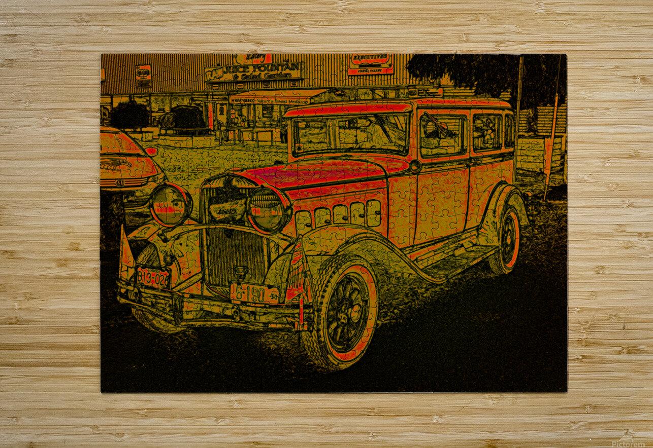 1930 Hudson  HD Metal print with Floating Frame on Back