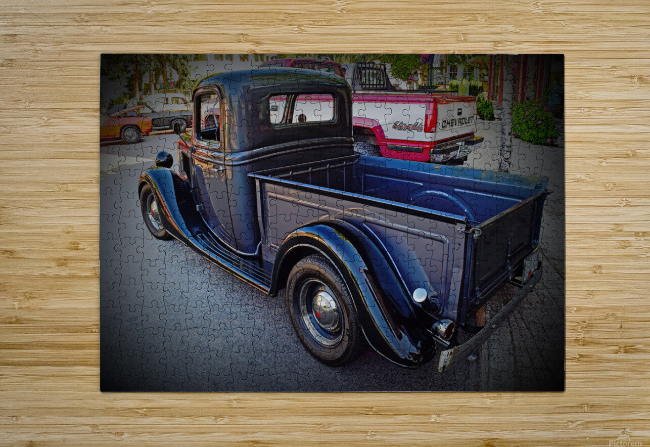 1935 Ford Pickup  HD Metal print with Floating Frame on Back