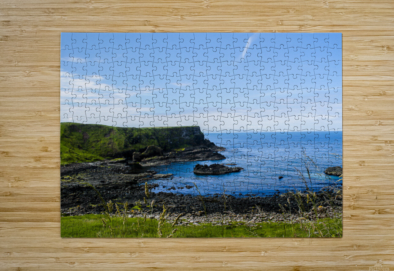 Northern Ireland Coast View II  HD Metal print with Floating Frame on Back