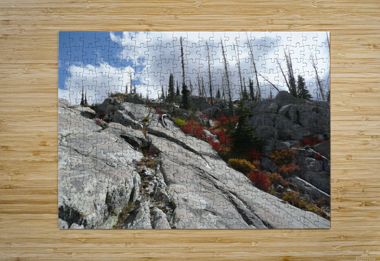 Easy Climb to Grouse Mountain  HD Metal print with Floating Frame on Back