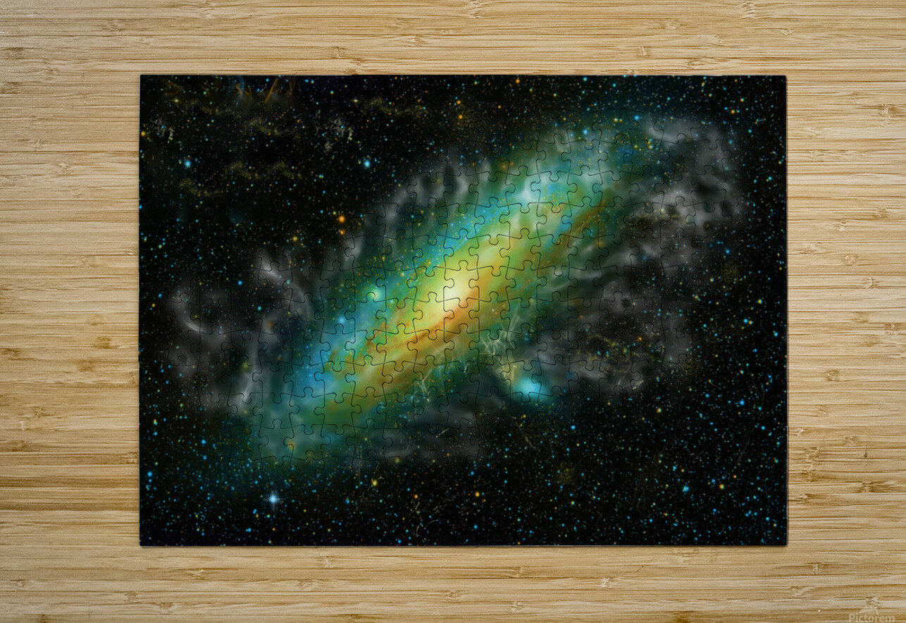 A Trillion Stars    HD Metal print with Floating Frame on Back