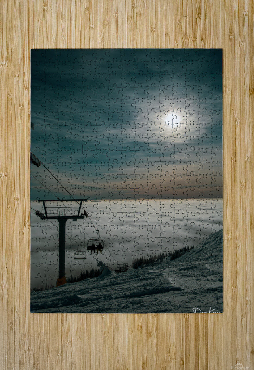 Dec 31 Print 11  HD Metal print with Floating Frame on Back