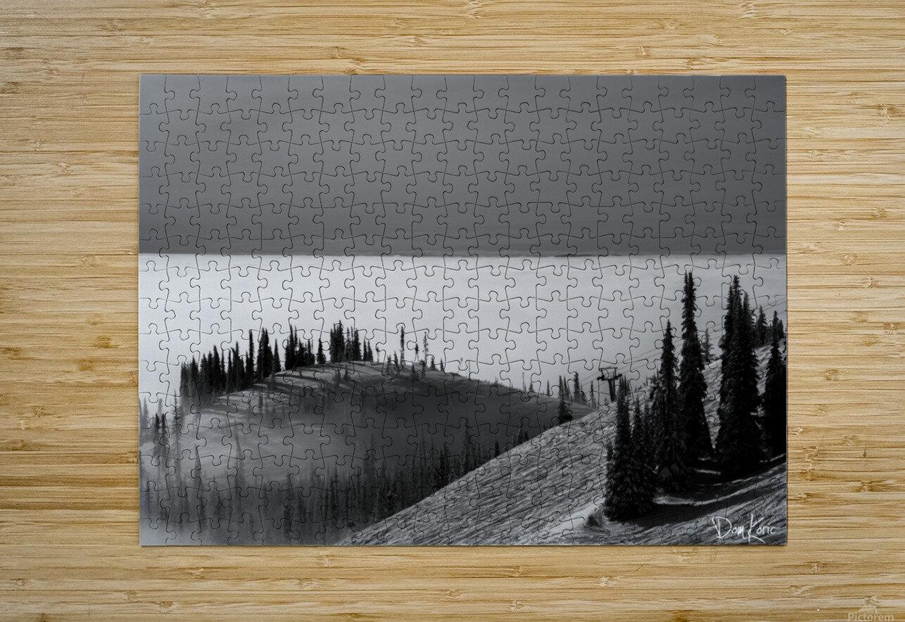 Dec 31 Print 1  HD Metal print with Floating Frame on Back