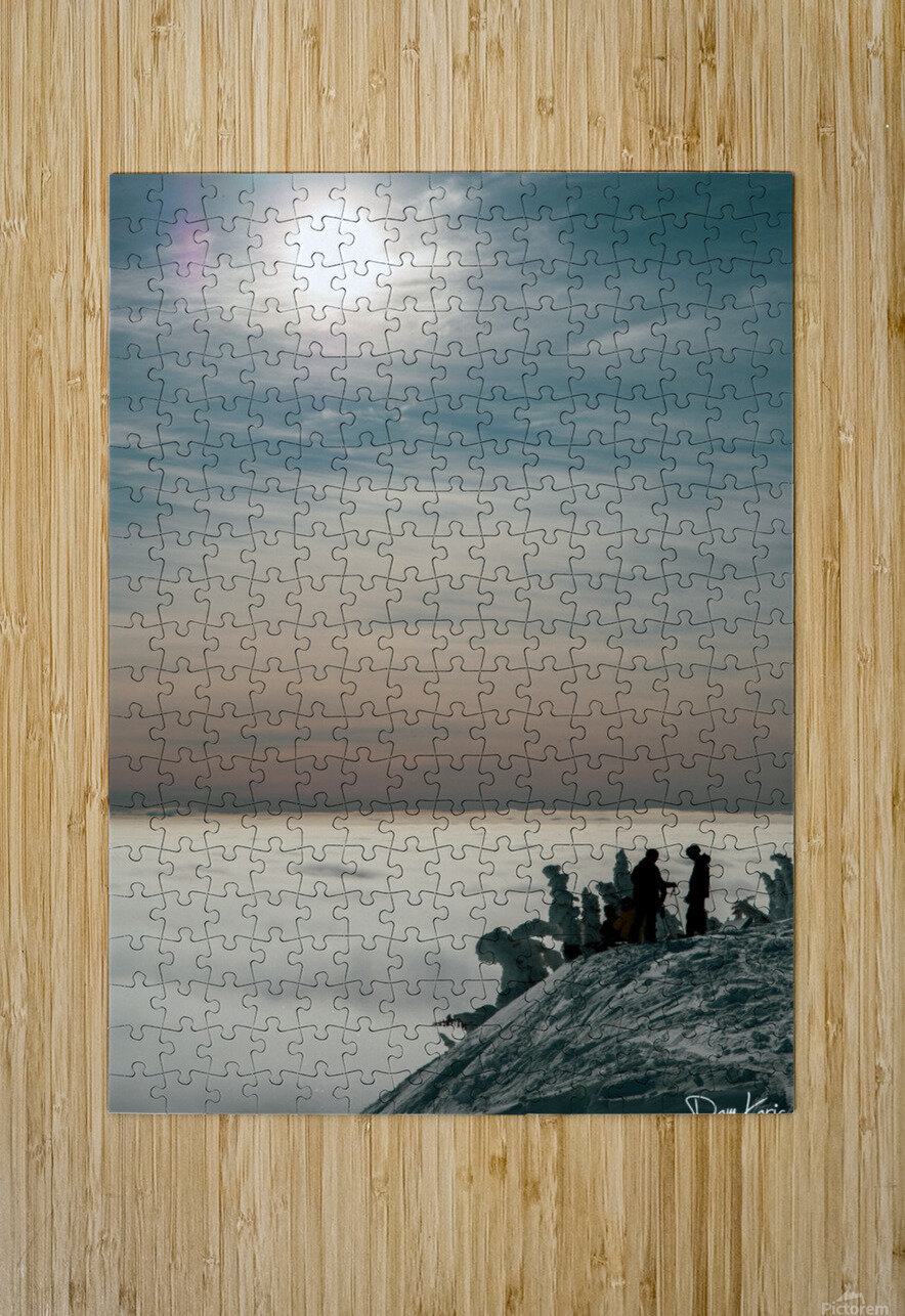 Effortless Tranquility  HD Metal print with Floating Frame on Back
