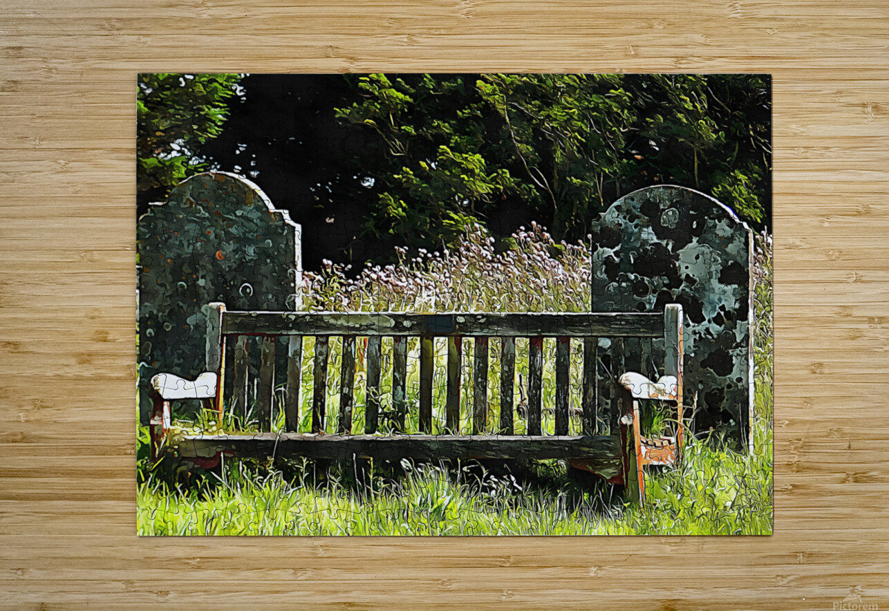 Time for Contemplation  HD Metal print with Floating Frame on Back