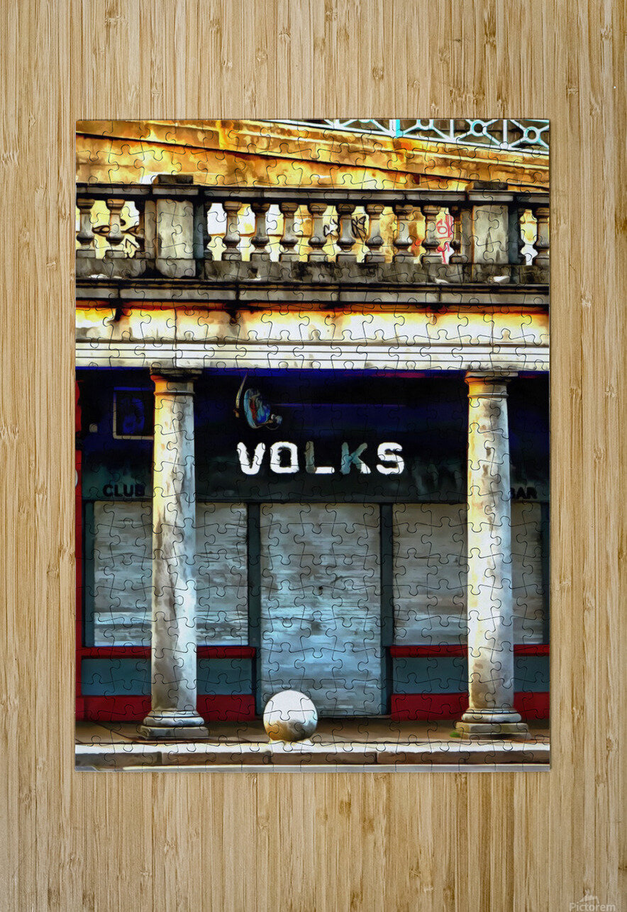 Volks Ticket Office Brighton  HD Metal print with Floating Frame on Back